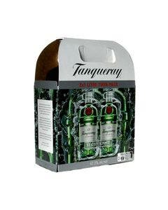 Tanqueray London Dry Gin Twin Pack 2 x 1.0 Litre 47.3%