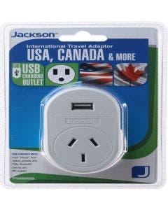 Jackson outbnd adaptor usb usa