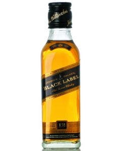 Johnnie Walker Black Label Aged 12 Years Old Blended Scotch Whisky 200ml 40%