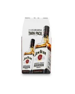 Jim beam white twin pack 2 x 1.125l