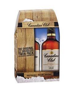 Canadian club twin pack 2 x 1l