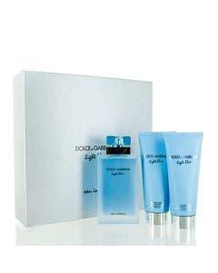Dolce & gabbana set light blue eau de toilet 100ml+body lotion+shower gel