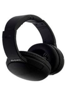 Moki nero headphones with mic