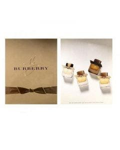My burberry 4 pieces mini set by burberry for women