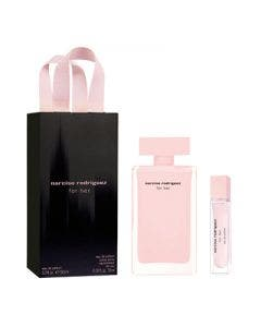 Narciso rodriguez for her eau de perfume 100ml + 10ml